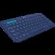 Logitech K380, US, modrá