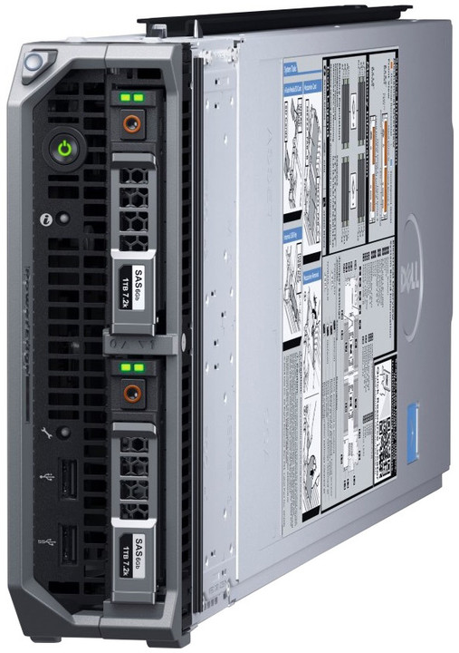 Dell PowerEdge M630p /E5-2620v4/8G/Bez HDD/H730p