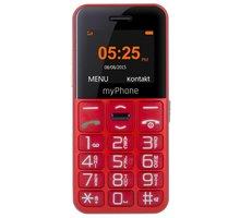 myPhone EASY, červená - TELMY10EASYRE