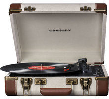 Crosley Executive, linen/brown - CR6019A-LI