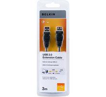 Belkin prodlužovací USB 2.0 kabel A-A, řada standard, 3 m - F3U153cp3M