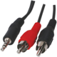 Kabel jack 3.5MM - 2xcinch(M), 10m