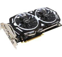 MSI GeForce GTX 1060 ARMOR 6G OCV1, 6GB GDDR5 + Tričko nVidia Game Ready