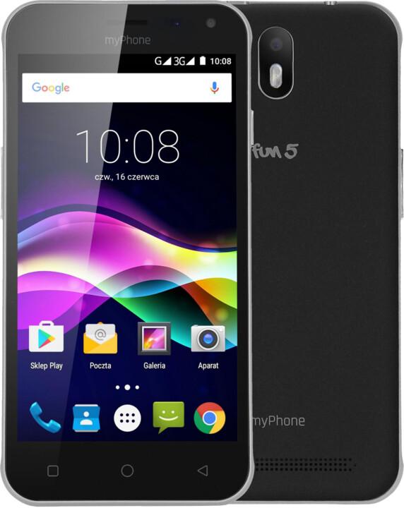 myPhone FUN 5, černá