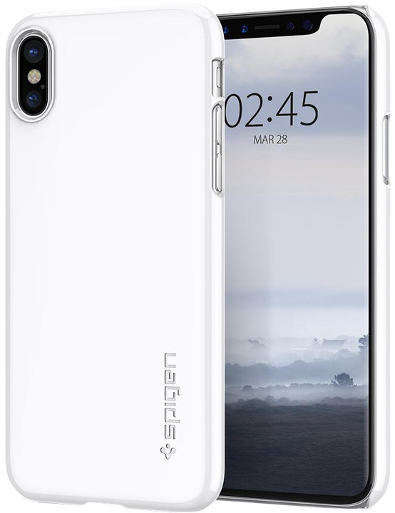 Spigen Thin Fit iPhone X, white