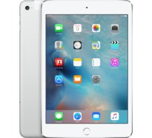 APPLE iPad Mini 4, Cell 64GB, Wi-Fi, stříbrná - MK732FD/A
