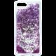 Guess Liquid Glitter Hard Party Purple pouzdro pro iPhone 7 Plus