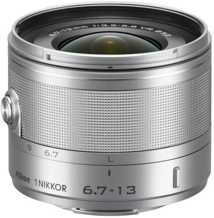 Nikkor 6,7-13 mm F3.5-5.6 VR 1, stříbrná