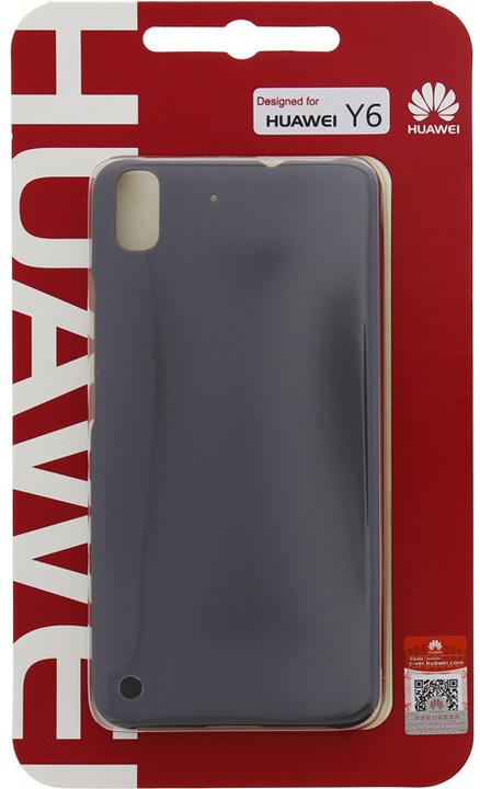 Huawei Original Protective Pouzdro 0.8mm Black Ascend Y6 (EU Blister)