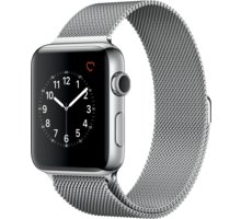 Apple Watch 2 42mm Stainless Steel Case with Silver Milanese Loop - MNPU2CN/A