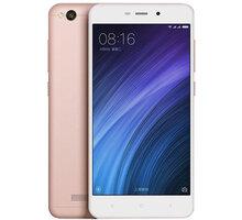 Xiaomi RedMi 4A LTE - 16GB, zlato-růžová - PH2888 + Zdarma CulCharge MicroUSB kabel - přívěsek (v ceně 249,-)