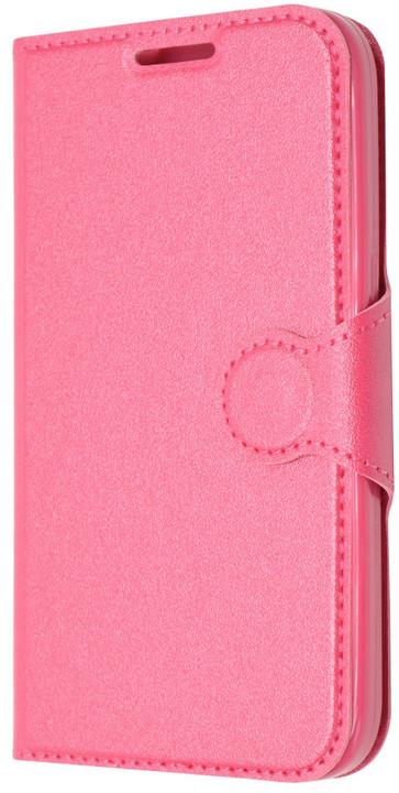 FIXED flipové pouzdro pro Samsung Galaxy Core Prime, G360, růžová