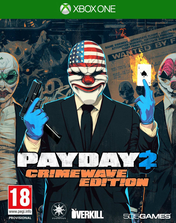 Payday 2: Crimewave Edition - XONE