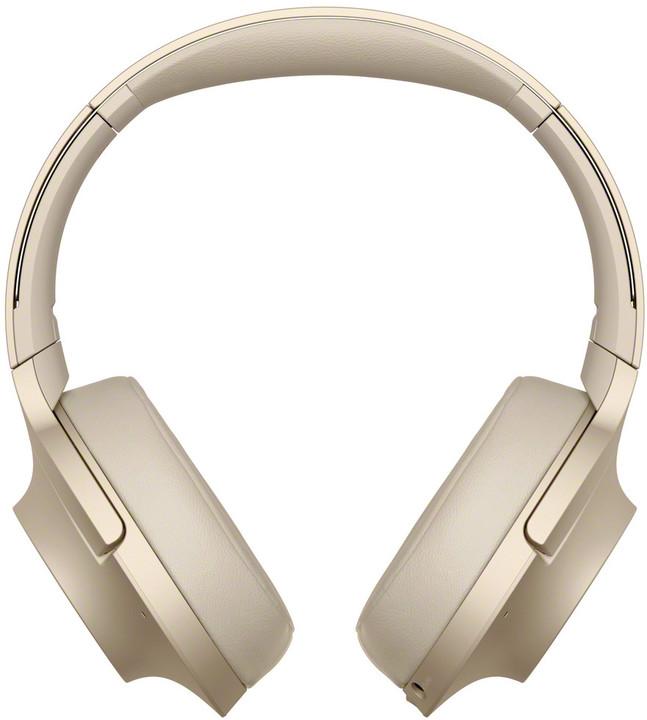 Sony WH-H900, zlatá