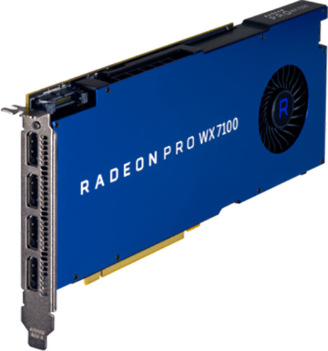 HP Radeon Pro WX 7100, 8GB