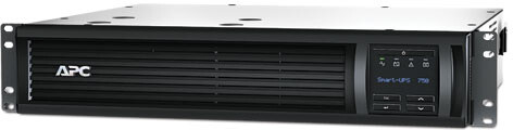 APC Smart-UPS 750VA, LCD, 2U, 230V