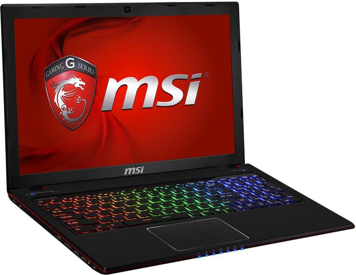 MSI GE60 2PE-062CZ Apache Pro, černočervená