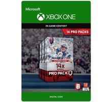 Madden NFL 17 - 14 Pro Packs (Xbox ONE) - elektronicky - 7D4-00140