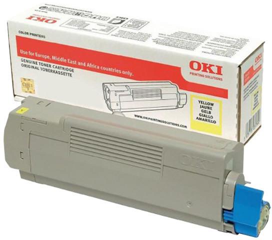 OKI 46443101, (10000 str.), yellow