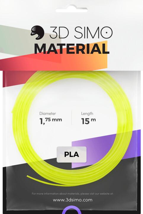 3Dsimo materiál - Fluorescent (modrá, zelená)