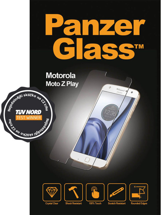 PanzerGlass, ochranné sklo pro Motorola Moto Z Play