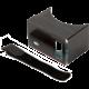PanoBoard - Brýle na virtuální realitu Click Boost, černo-tyrkysová