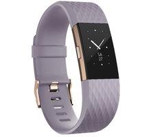 Fitbit Charge 2, S, fialová - FB407RGLVS-EU
