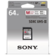 Sony SDXC SF64M Professional 64GB Class 10, UHS-II