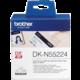 Brother - DKN55224 (papírová role nelepící bílá 54mm x 30,48m)