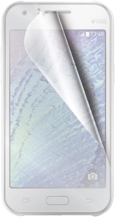 CELLY ochranná fólie displeje pro Samsung Galaxy J1, 2ks
