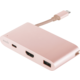 Moshi USB-C Multiport Adapter - Golden rose