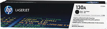 HP CF350A, černá