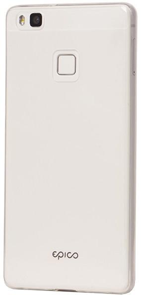 EPICO pružný plastový kryt pro Huawei P9 Lite RONNY GLOSS - bílý transparentní