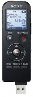 Sony diktafon ICDUX533B, 4GB, černá