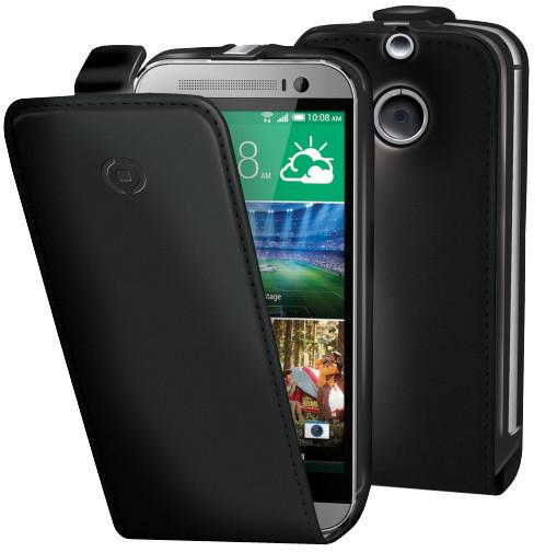 CELLY FACE pro HTC One (M8), černá