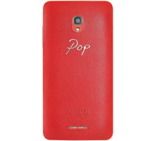ALCATEL ONETOUCH 5022D POP STAR Leather Case, Red - G5022-3EALLBG