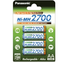 Panasonic 3HGAE/4BE AA 4x 2700