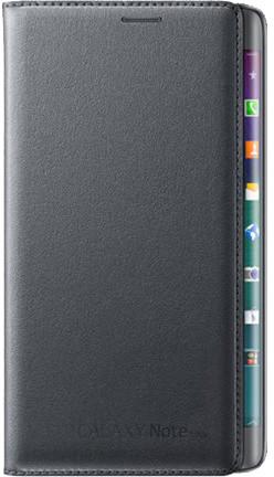 Samsung EF-WN915BC flip pouzdro pro Galaxy Note Edge, černá