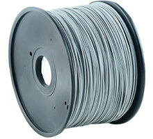Gembird tisková struna (filament), ABS, 1,75mm, 1kg, šedá - 3DP-ABS1.75-01-GR