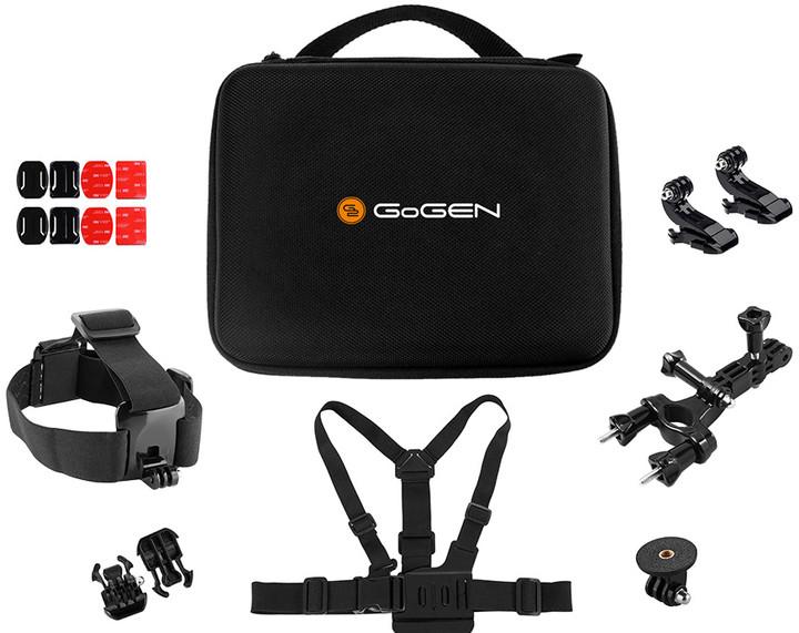 GoGEN univerzální sada příslušenství pro outdoor camery, BASIC SET 21 dílů