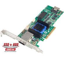ADAPTEC RAID 6445 Single SAS 2/ SATA 2, PCI Express x8, 8 portů (4x int., 4x ext.) - 2270200-R