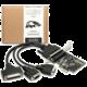 AXAGON PCIe adapter 2x sér. + 1x par. Fan-out + LP