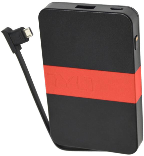TYLT ENERGI 3K, micro usb kabel, černá/červená