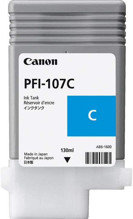 Canon PFI-107C, cyan