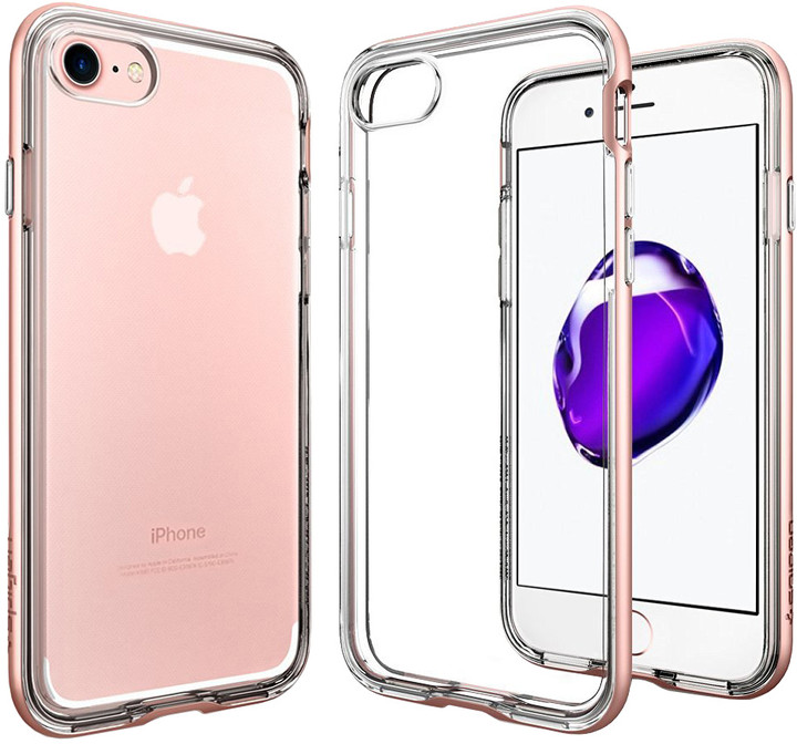 Spigen Neo Hybrid Crystal pro iPhone 7, rose gold