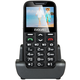 Evolveo EasyPhone XD s nabíjecím stojánkem, černá