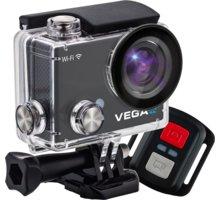 Niceboy VEGA 4K + dálkový ovládač - vega-4K + Niceboy Selfie tyč 52,5 cm černá v ceně 450 Kč