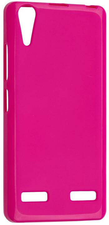 FIXED TPU gelové pouzdro pro Lenovo A6010, růžová