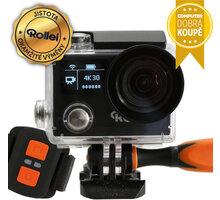 Rollei ActionCam 430, černá + dálkový ovladač - 40302 + Rollei sada 23 ks příslušenství pro akční kamery v ceně 1349 Kč