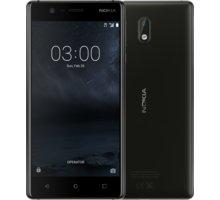 Nokia 3, Dual Sim, černá